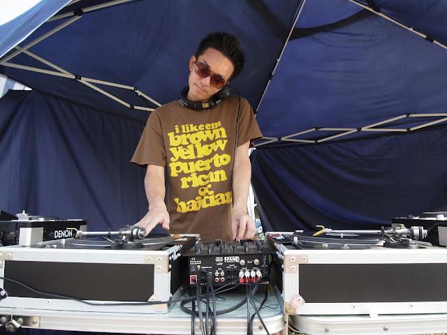 バイブスレコード DJ教室で企画したBBQ大会で生徒さんがDJプレイされている模様です。