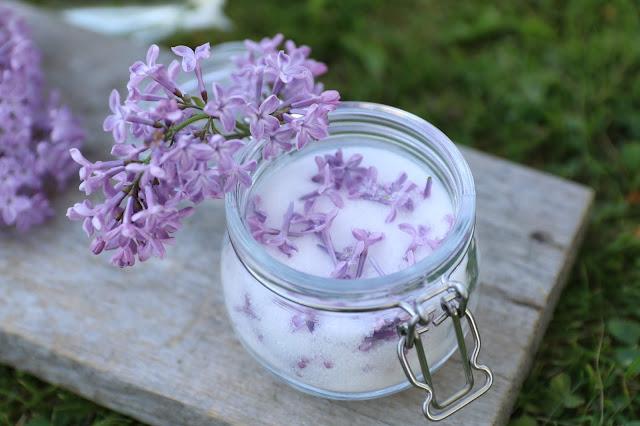 syreenisokeri, lilac sugar, syreenisokeri resepti, lilac sugar recipe