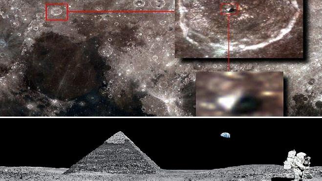 Ποιος δημιούργησε  αυτή η πυραμίδα στη Σελήνη;