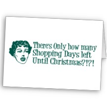 Shopping Days Until Christmas