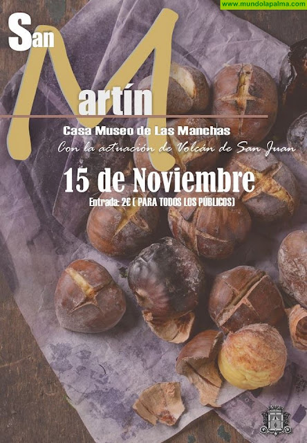 Los Llanos celebrará San Martín en el Museo del Vino de La Manchas con las tradicionales castañas y música folclórica