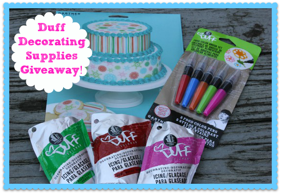 Me And My Pink Mixer Duff Decorating Supplies Giveaway