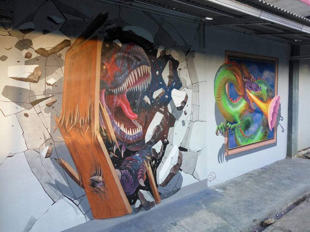 Jogja painting for Mural yogyakarta