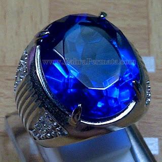 Cincin Batu Permata Blue Obsidian - ZP 1009