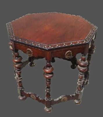 1930s Victorian Gothic Style End Table 175 Sold