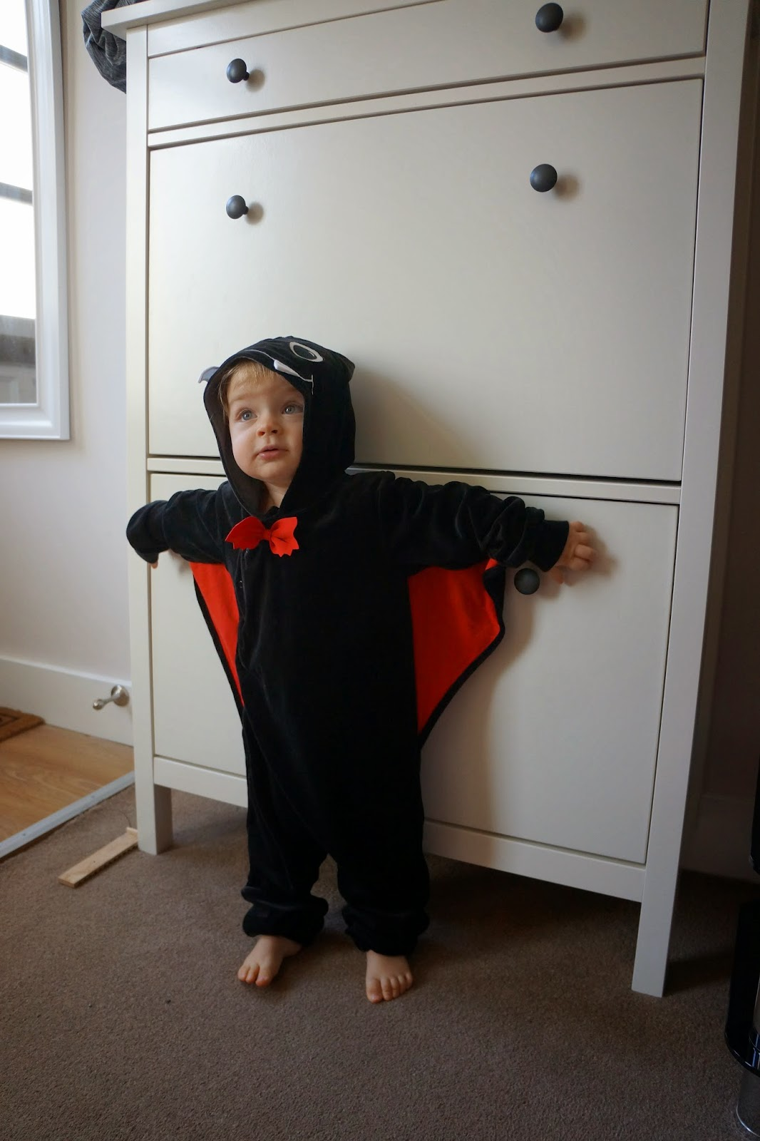 baby bat halloween costume H&M