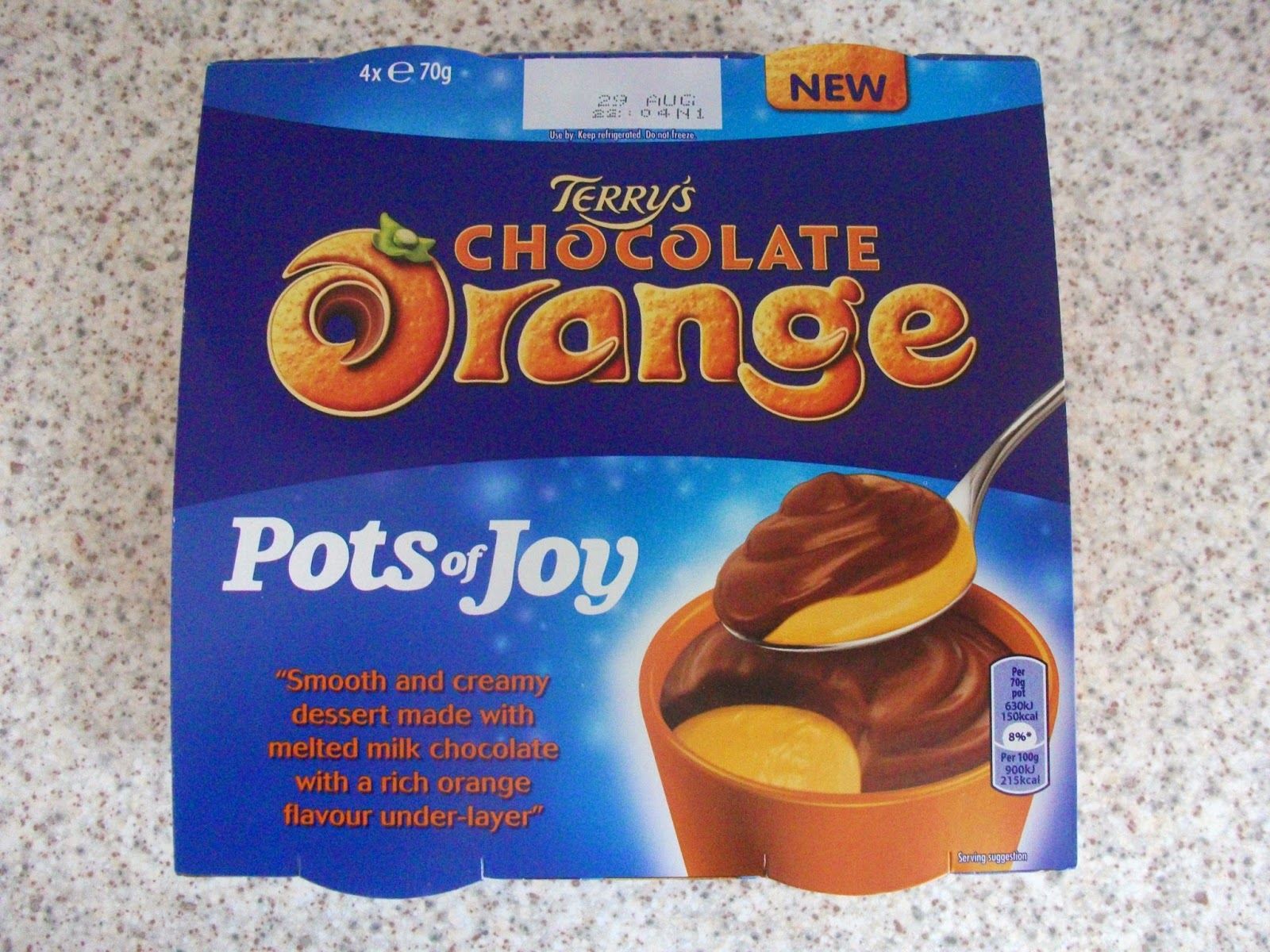 terry's chocolate orange pots of joy