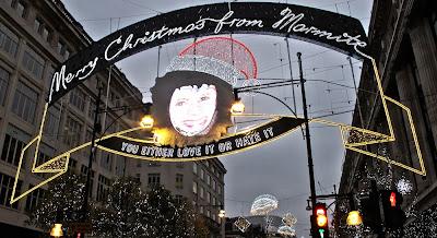 Oxford Street Christmas Lights, UK
