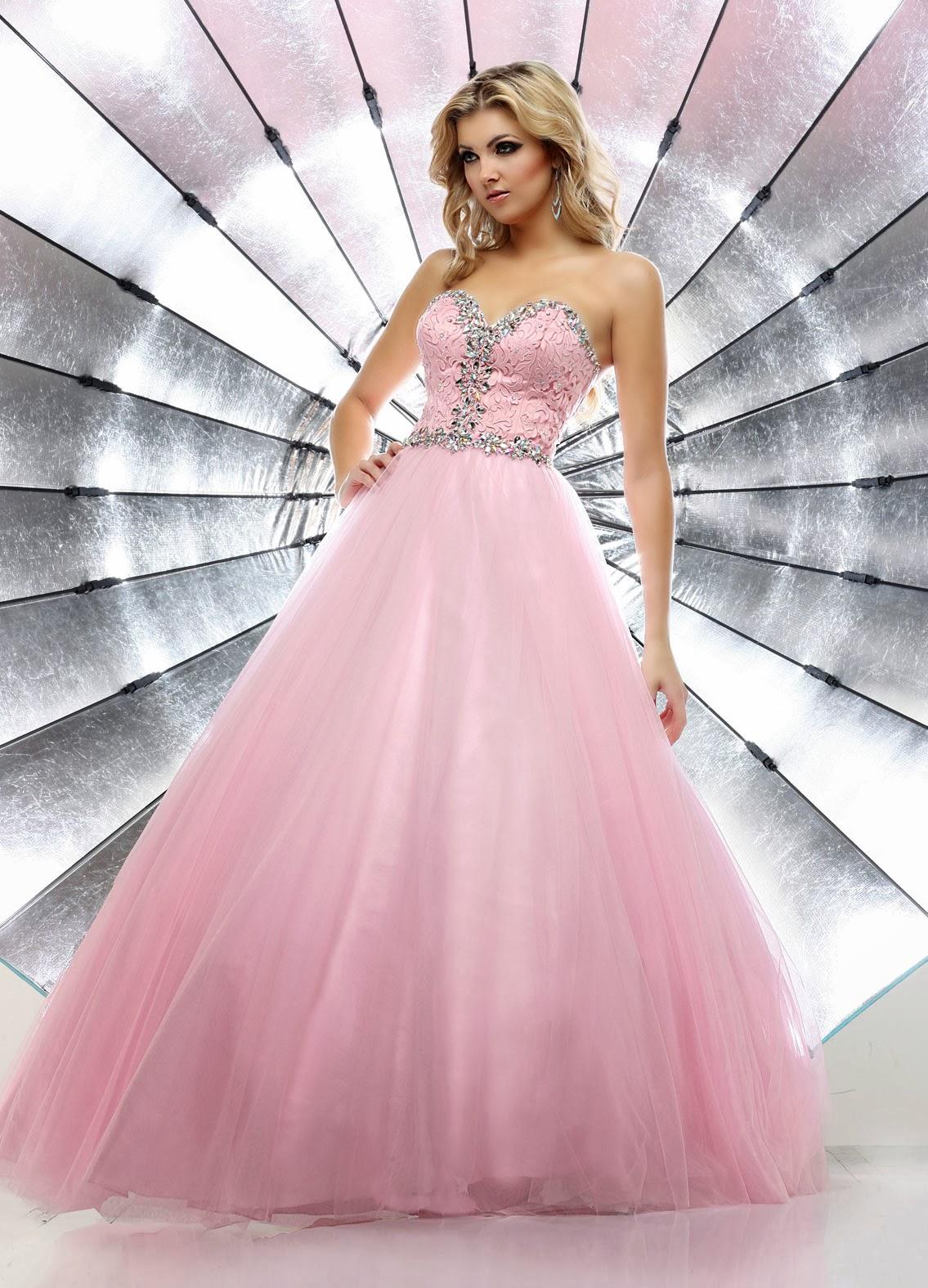 Excelentes vestidos de 15 aos estilo princesa
