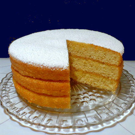One Perfect Bite James Beard S 1 2 3 4 Cake With Citrus Glaze