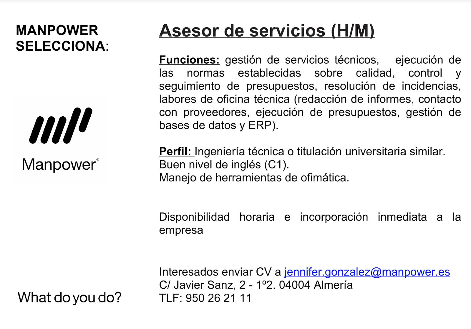 Ofertas de Empleo en España: noviembre 2017