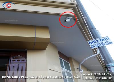 lắp camera quan sát tại Lê Lợi Hải Phòng