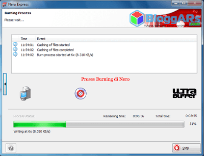 Proses Burning Data CD/DVD di Nero Startsmart