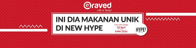 7 Makanan dan Minuman Unik di #QravedHype