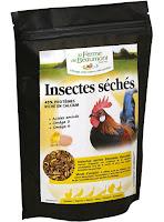 La Ferme de Beaumont - Insectes séchés 750 gr
