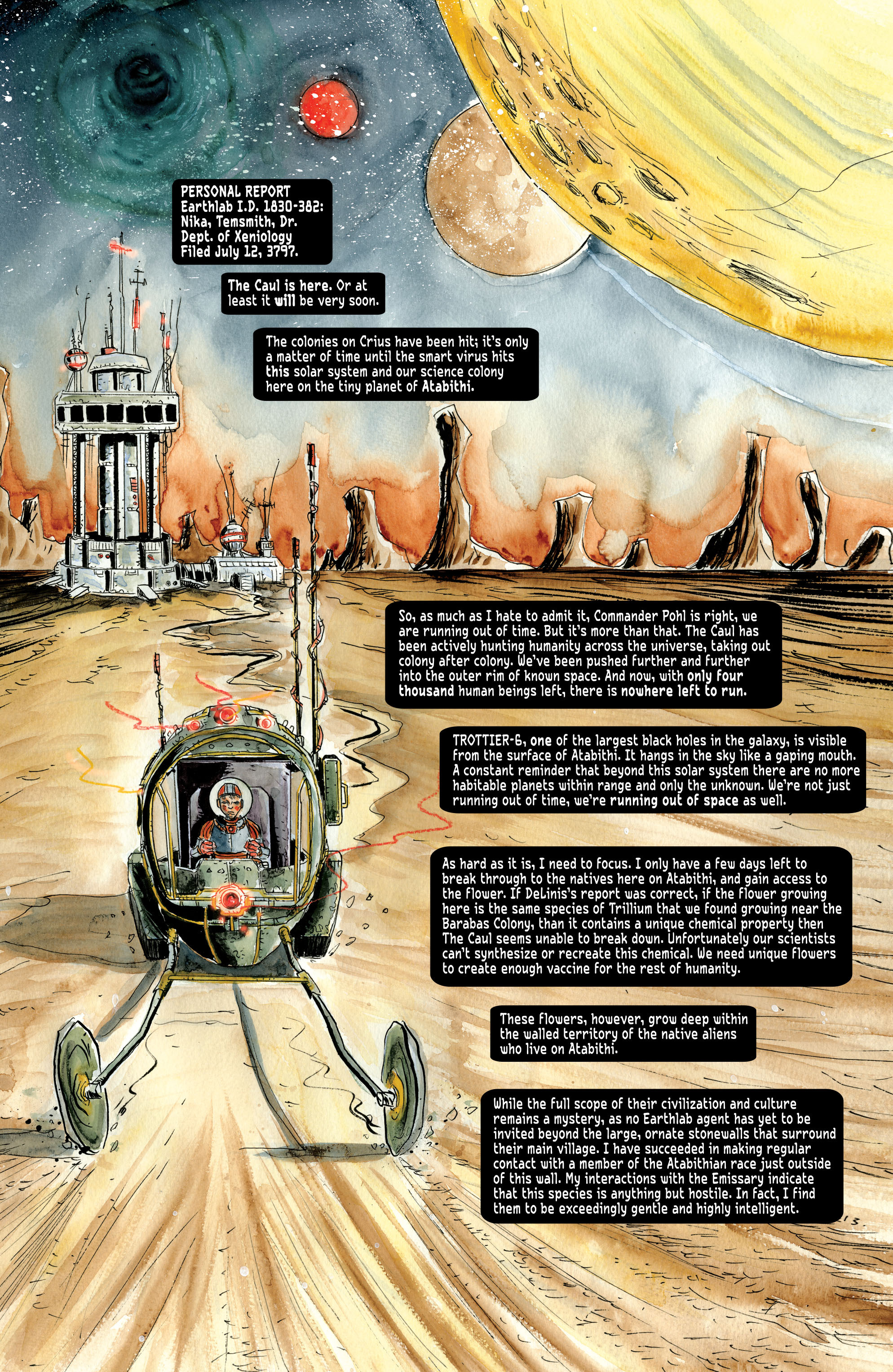 Read online Trillium comic -  Issue # TPB - 11
