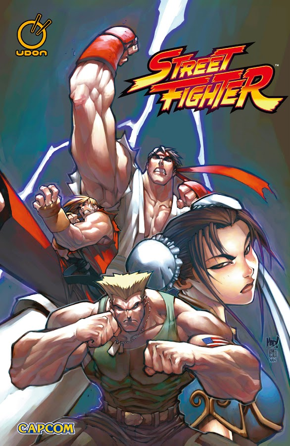 street fighter comics