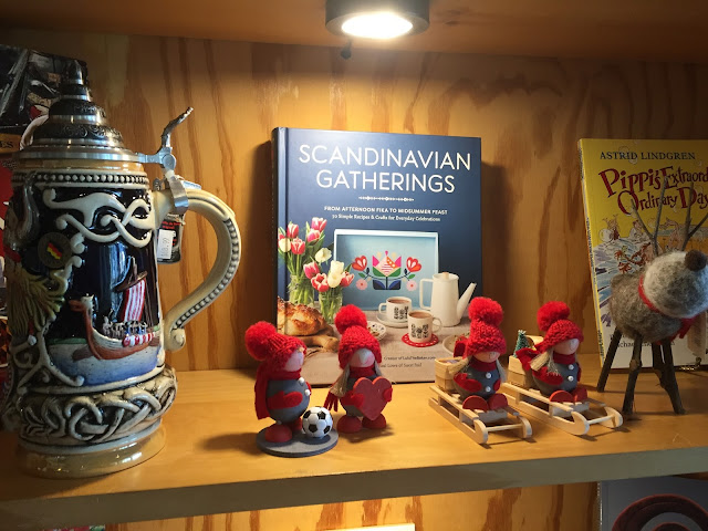 Scandivanian steins, books, gifts and more.