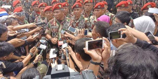 Serah Terima Jabatan Komandan Jenderal Kopasus