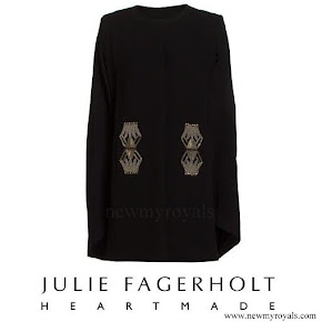 Princess Mary wore HEARTMADE Julie Fagerholt cape