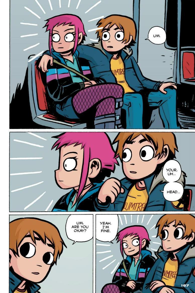 Read online Scott Pilgrim comic -  Issue #1 - 149