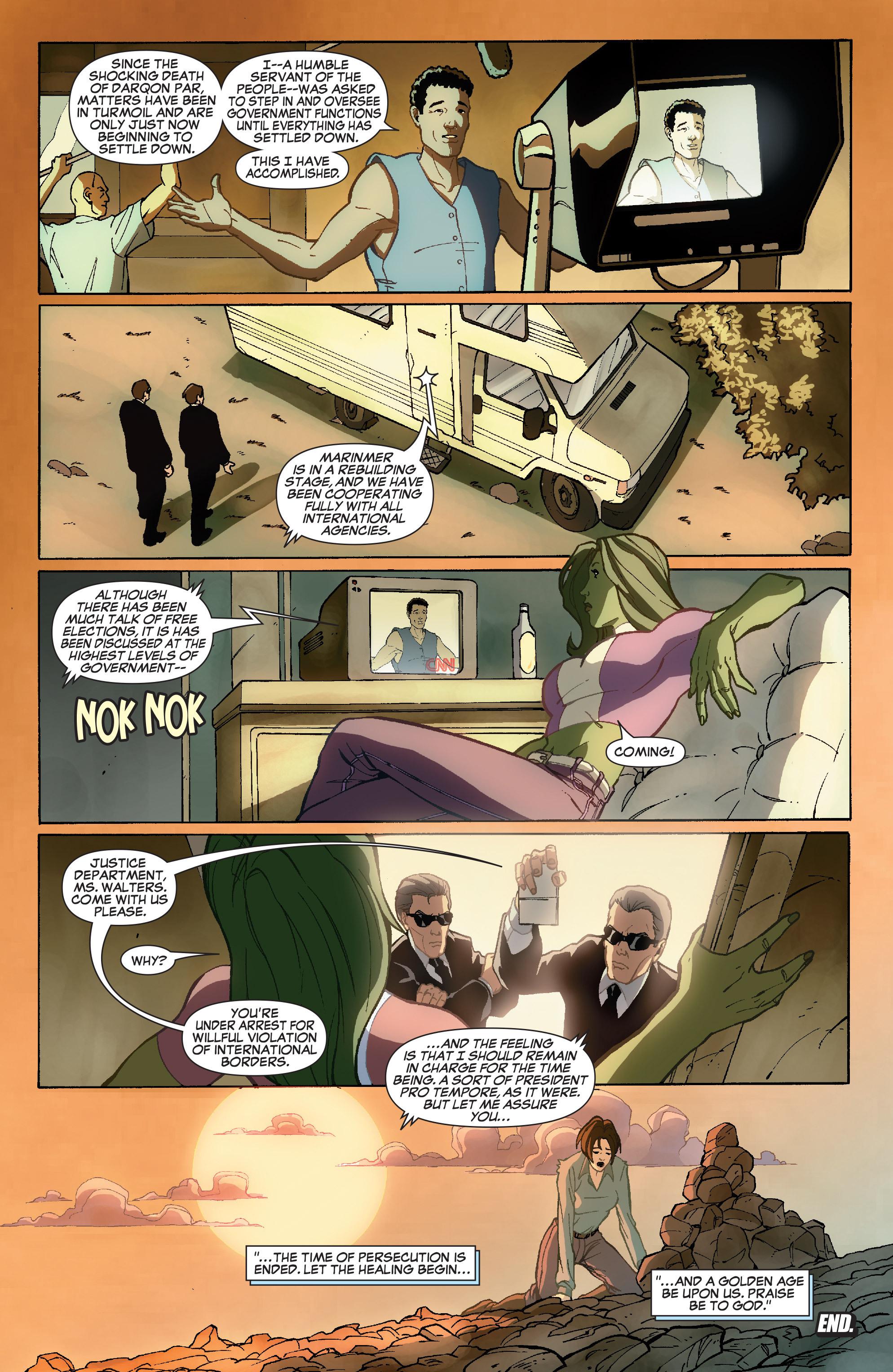 Read online She-Hulk (2005) comic -  Issue #36 - 24