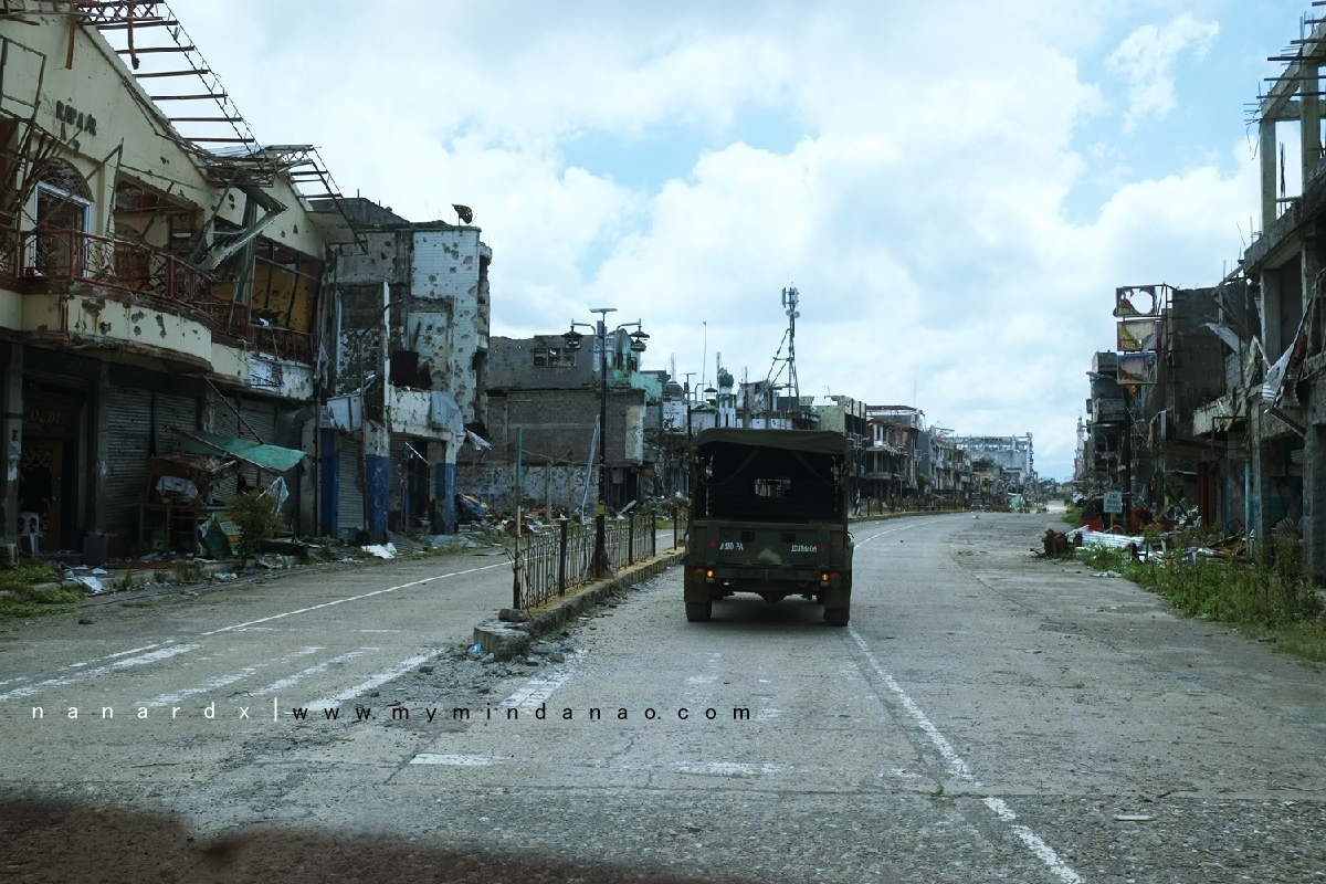 The Main Battle Area In Pictures | Marawi City
