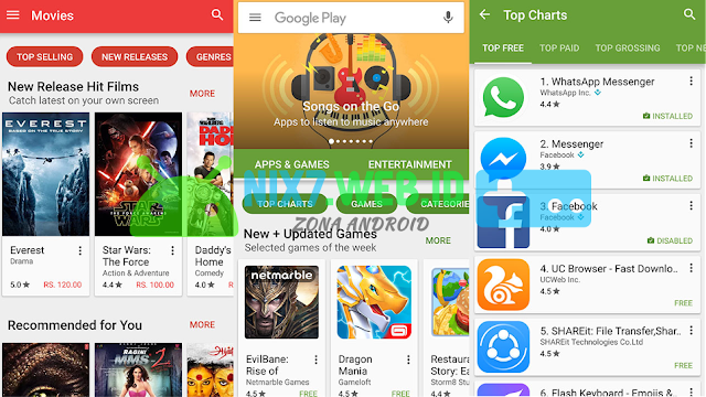 Google Play Store 7.0.25 Terbaru Free Download APK