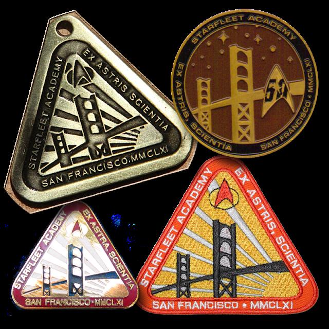Starfleet Academy San Francisco 2161 insignia – plate / pin / pendant, badge, graduate coin