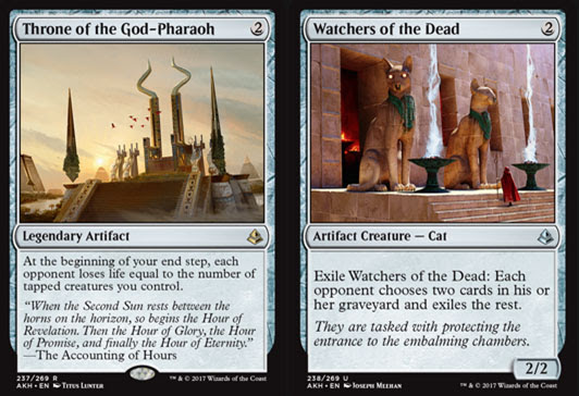 Magic the Gathering Adventures: Amonkhet Set Review: Artifacts and ...