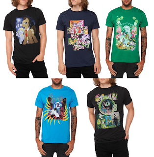MLP Comic T Shirts