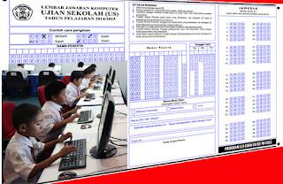 Format LJK/Lembar Jawaban Komputer Versi Ujian Dan Ulangan Sekolah