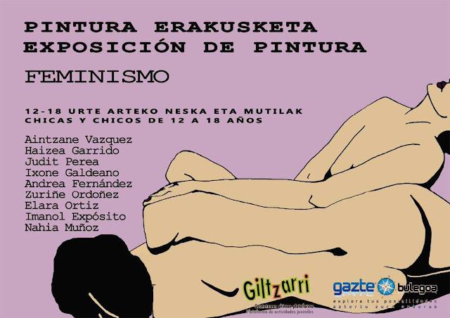 Exposición sobre feminismo, de Giltzarri