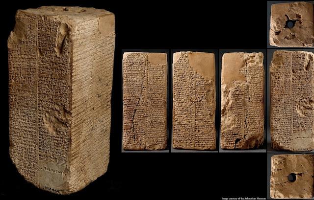 La Lista de los Reyes Sumerios registra las duraciones de los reinados de Sumeria. La sección inicial se ocupa de los reyes antes del diluvio y es significativamente diferente del resto.
