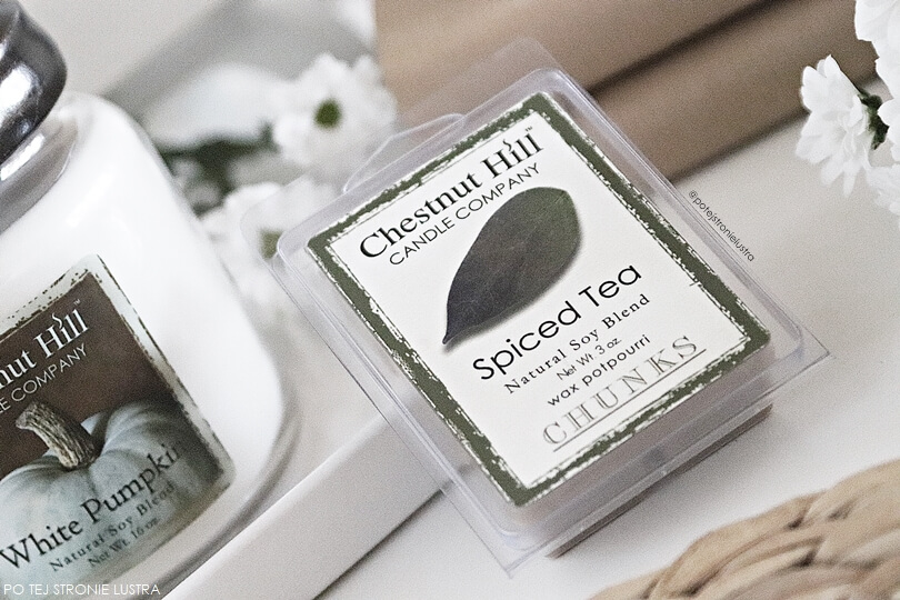 chestnut hill candle spiced tea wosk zapachowy