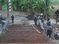 Jembatan Titik Nol Dusun Kajor Masuk Tahap Penyempurnaan