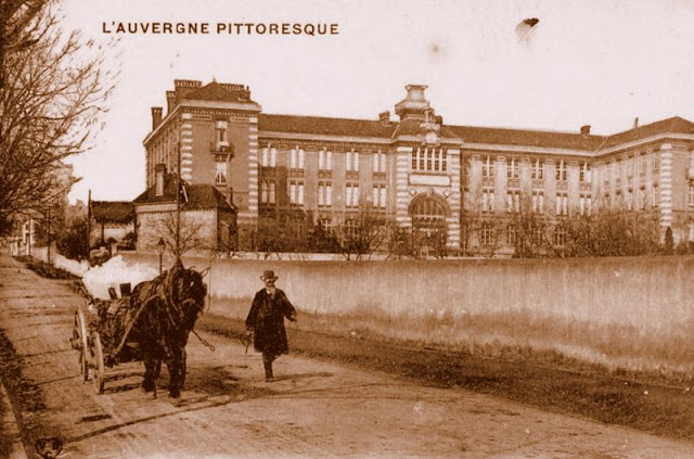 CPA charretier, Auvergne
