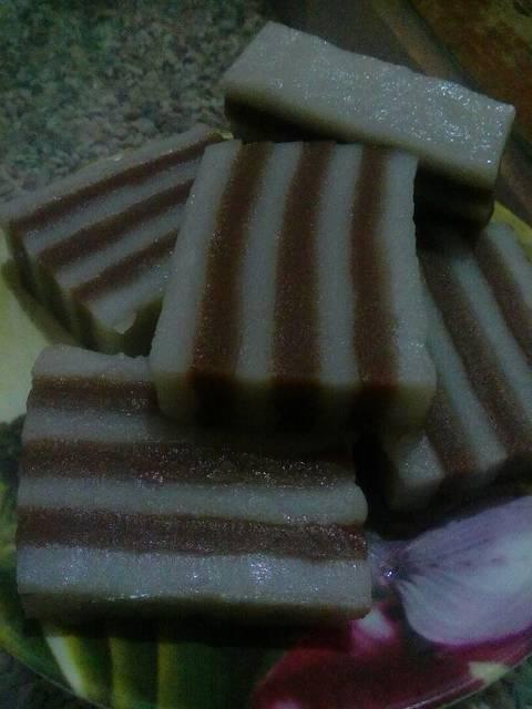 kue lapis tepung beras  wanti jusmar resep aneka kue enak Resepi Sayur Campur Kukus Enak dan Mudah
