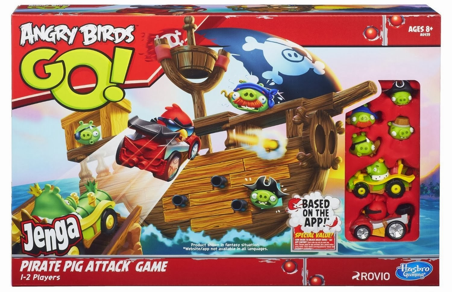 Loving Life: Angry Birds Go! Jenga Pirate Pig Attack Game Review