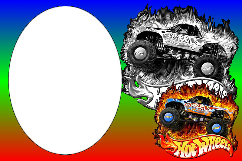 hot wheels party free printable