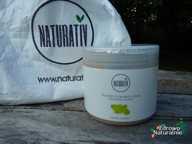 Naturativ - Relaksujący scrub cukrowy