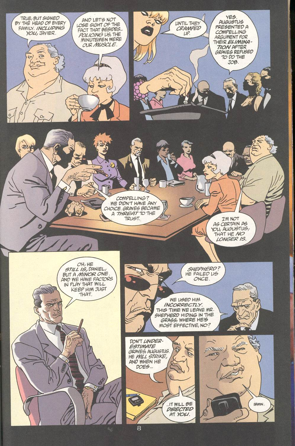 Read online 100 Bullets comic -  Issue #25 - 10