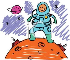 astronaut reaching out clip art - photo #16