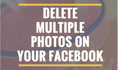 How to delete Multiple Photos on your Facebook Account