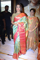 Shriya Saran Looks Stunning in Silk Saree at VRK Silk Showroom Launch Secundrabad ~  Exclusive 101.JPG