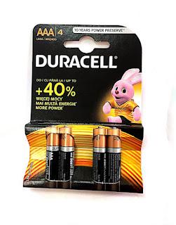 batterie aaa duracell basic