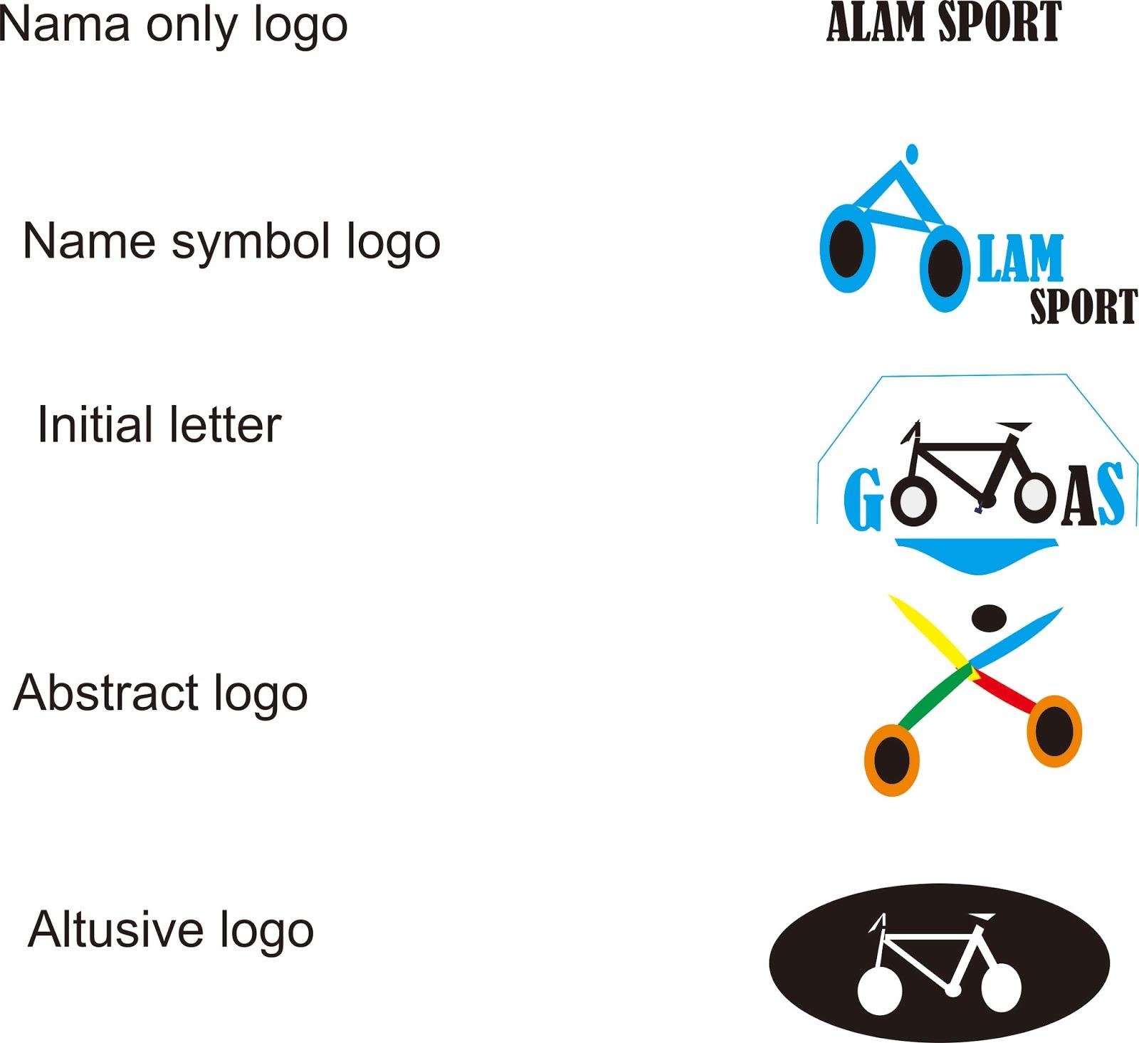 Contoh Logo Perusahaan Pengiriman Dan Produk Olahraga
