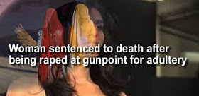 19 years old girl raped at gunpoint sentenced to be stoned to death for adultery