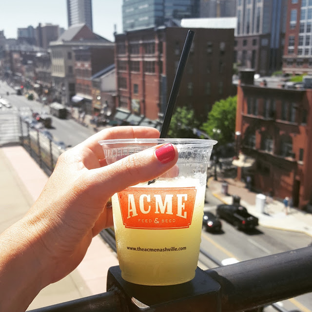 Where to drink on a patio in Nashville, ACME rooftop