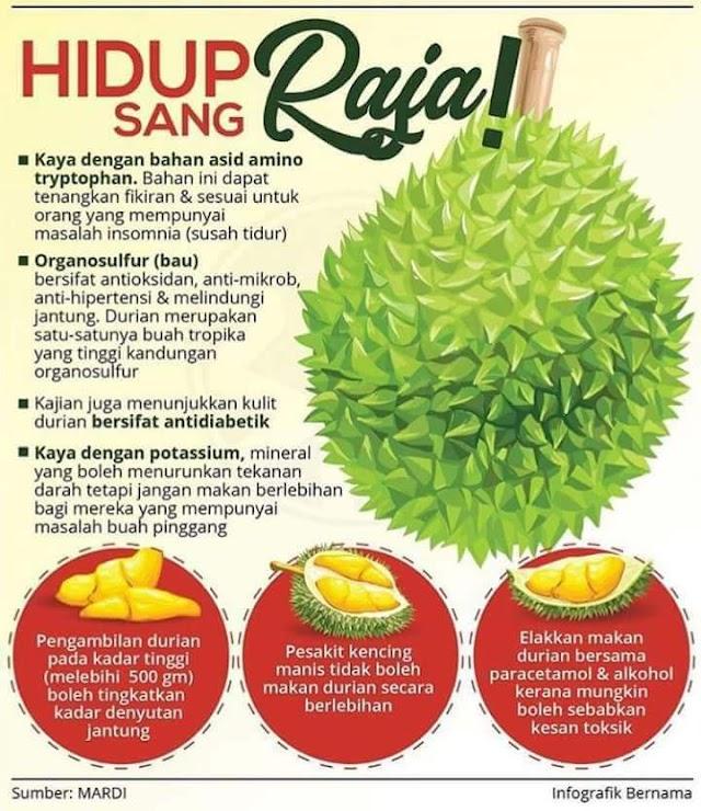 Rahsia Durian Yang Mungkin Ramai Orang Tak Tahu